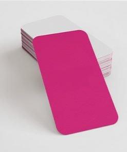 tarjetas de visita cantos redondos